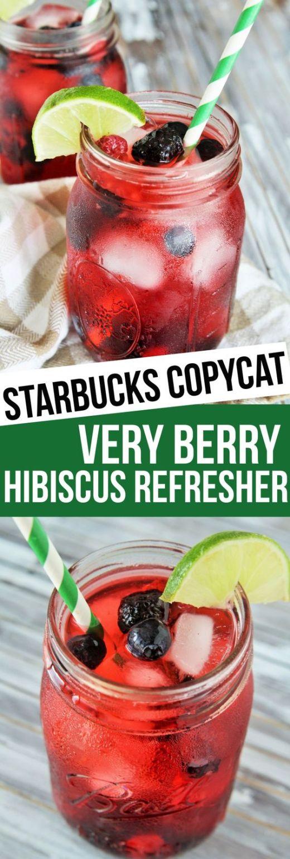 DIY Very Berry Hibiscus Refresher
