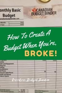 no money budget