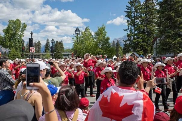 Parada do Dia do Canadá
