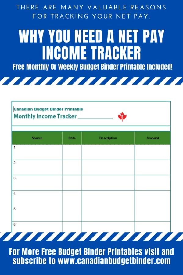 income tracker