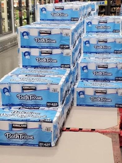kirkland toilet paper shortage