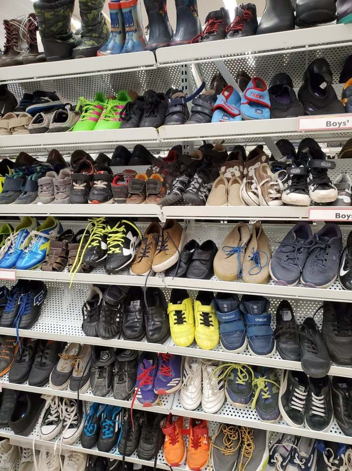 secondhand boys shoes