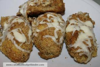 Mr.CBB's Baked Cheesy Mashed Potato and Spiced Squash Torpedoes