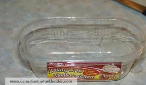 Muffin liner container