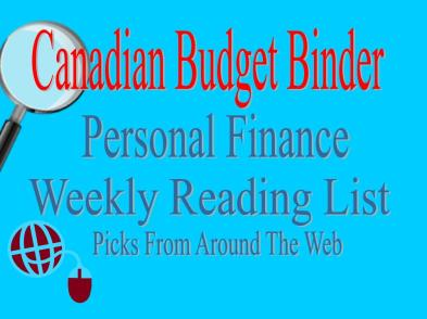 Personal Finance Weekly Reading List