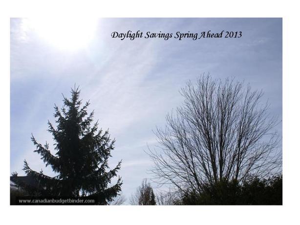 Daylight Savings 2013