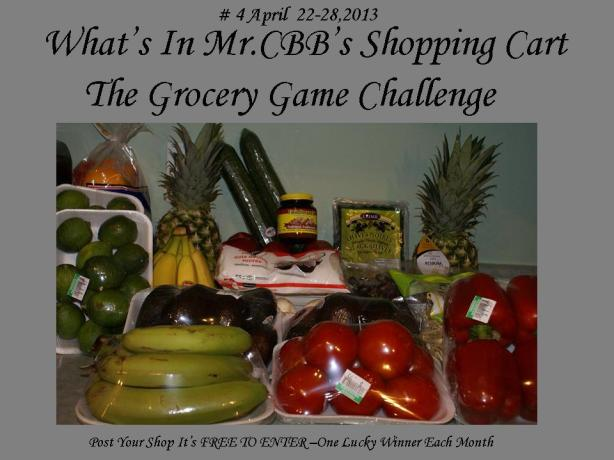 What's In Mr.CBB's Shopping Cart #4 April cart 2