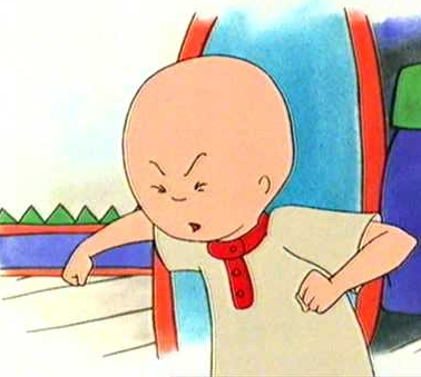 dear caillou what s