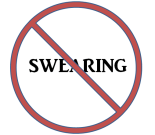Image result for no swearing