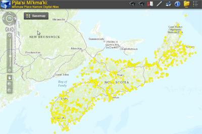 Atlas of Mi'kmaw Place Names