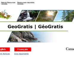 Canadian Open Data / Canadian GIS Data - GeoGratis