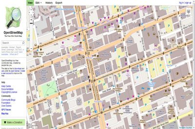 Success Recipe of OpenStreetMap