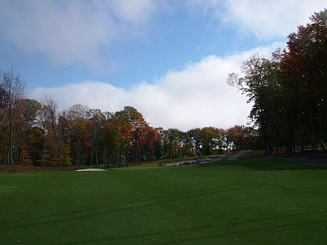 The Approach on Hole 1