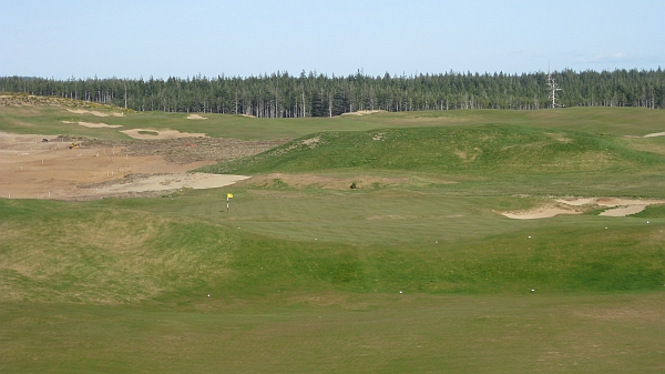 All the way Biarritz France: The devilish 8th hole.