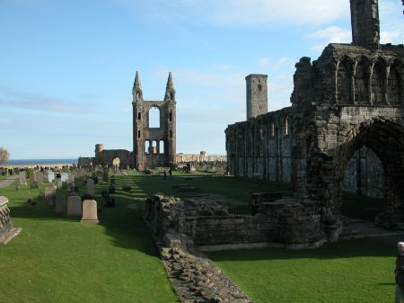 St Andrews Cathedral ruins