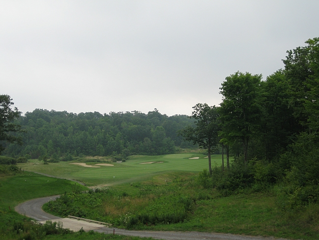 Could be Muskoka: The 5th hole at Smuggler's Glen demonstrates the similarities between this Kingston-area course and Toronto's cottage country.