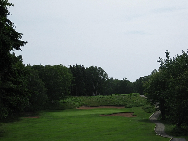 The 17th at Highlands -- Much improved with tree removal.