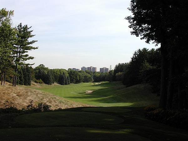 St. George's wonderfully restored 11th hole.