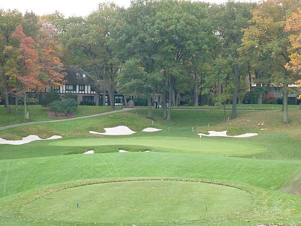 The controversial third hole at St. George's