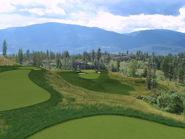 The new nine at Predator Ridge is designed by Doug Carrick and opens in 2010.