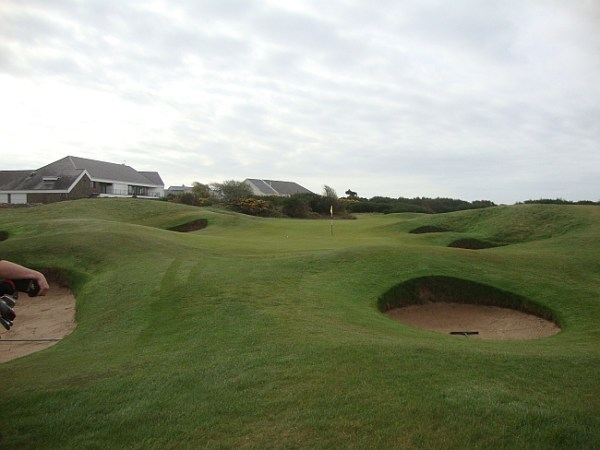 7th hole at Porthcawl