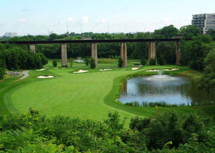 Weston Golf Club 2nd hole