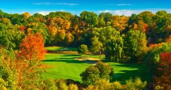 Glen Abbey Golf Club's stunning 11th hole