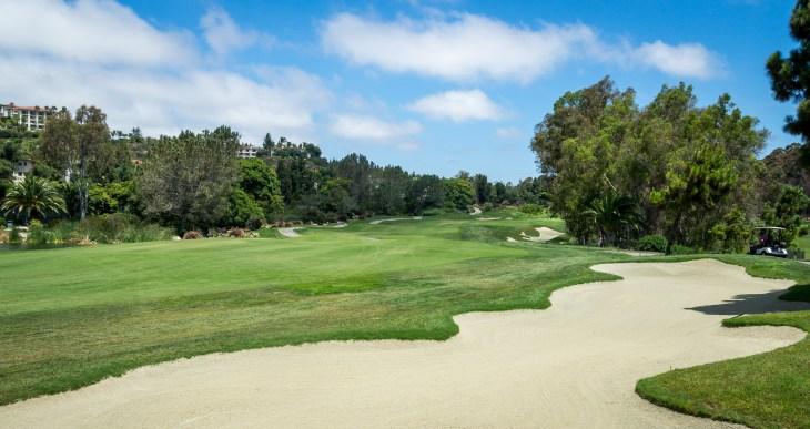 10th hole from the fairway at Aviara Golf Club