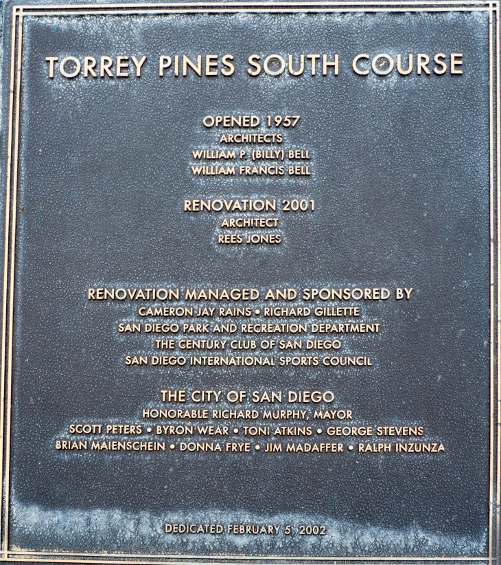 Torrey Pines South 2001 renovation by the 'Open Doctor' Rees Jones helped solidify it as an iconic US Open venue