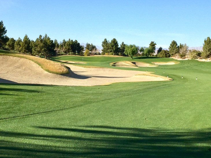 The awesome Par 5 14th
