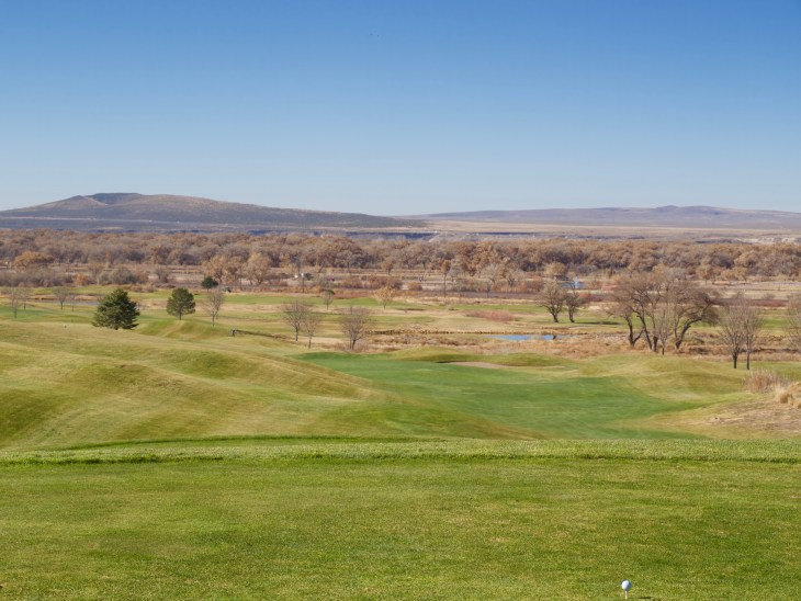 Isleta Eagle Golf Course 1st hole