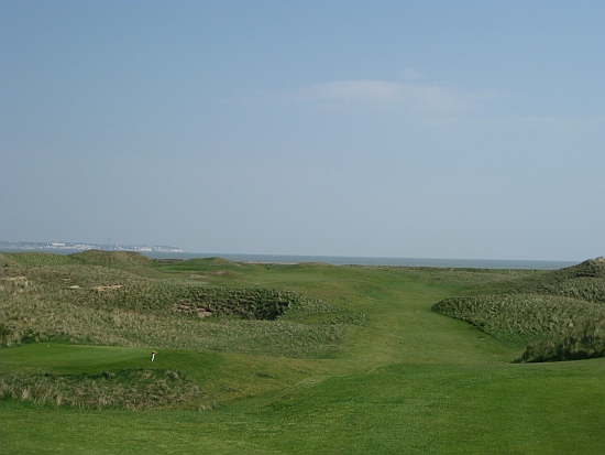 The rambling fifth hole at Royal St. George's.