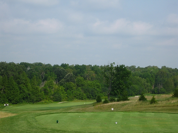 Baxter Creek #5 -- the strongest hole on the course.