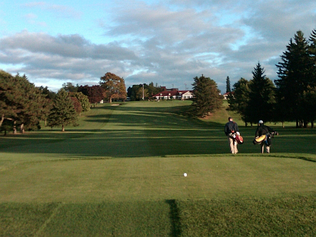Halved: The 18th hole at Cutten Club in Guelph
