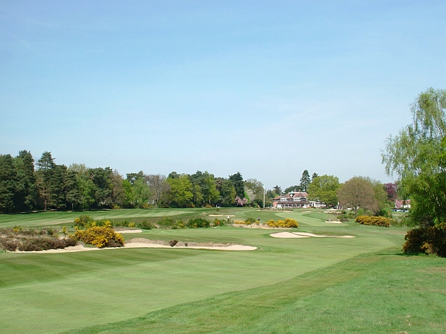 The 17th and 18th holes at Sunningdale Old, a Willie Park Jr. design