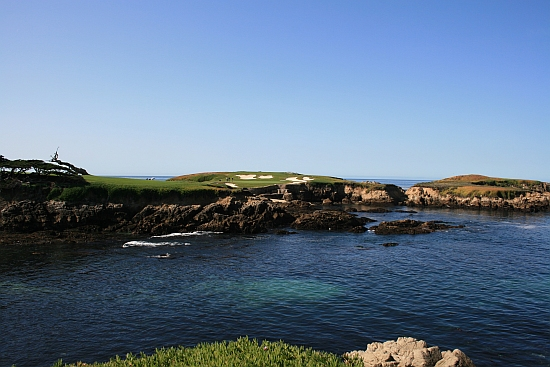The 16th at Cypress Point -- one of the game's grandest stages.