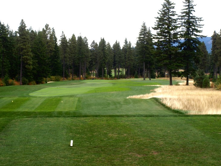 A great looking straight forward Par 4 opening hole.