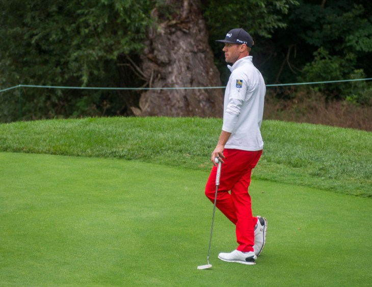 Graham DeLaet is looking good going into the weekend.