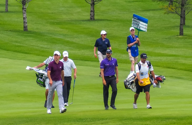 Canadians - Hadwin and Nick Taylor