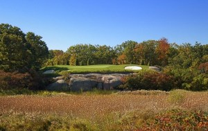 15th Hole at Oak Bay Golf Club, Port Severn, Ontario (Image: Sharon McAuley