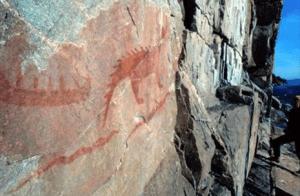 Agawa Pictographs, Lake Superior Provincial Park