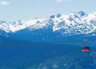 Peak 2 Peak Gondola (Image: Whistler Tourism)