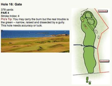 North Berwick Golf Club 16th Hole (Image: North Berwick Golf Club)