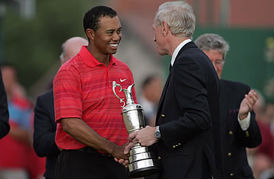 Tiger Woods 2006 Open Championship (Image: Royal LIverpool)
