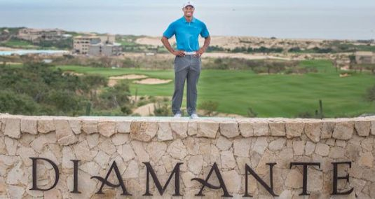 Tiger Woods at Diamante (Image: Diamante Cabo San Lucas)