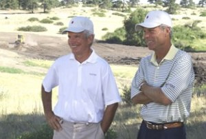 Architects Bill Coore and Ben Crenshaw. (Image: cooreandcrenshaw.com)