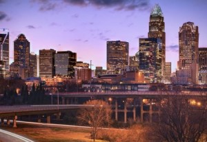Charlotte NC skyline (Image: Visit North Carolina)