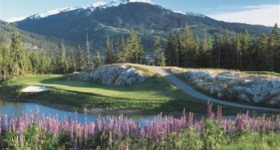 Fairmont Chateau Whistler golf course (IImage: Fairmont Chateau Whistler)