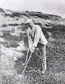 Scottish golf professional and Machrie Links designer Willie Campbell.