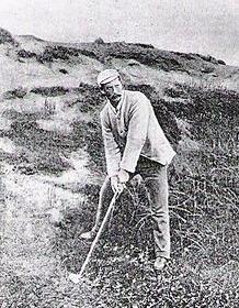 Scottish golf professional and Machrie Links designer Willie Campbell.